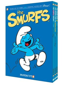 The Smurfs Graphic Novels Boxed Set: Vol. #1 - 3
