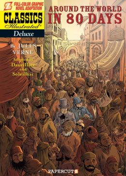 Classics Illustrated Deluxe #7: Around the World in 80 Days