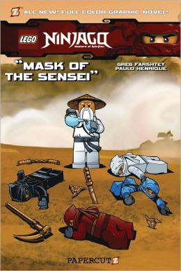 Mask of the Sensei (Ninjago Graphic Novels Series #2)