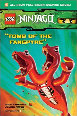Tomb of the Fangpyre (Ninjago Graphic Novels Series #4)