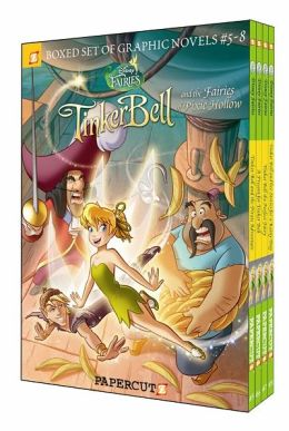 Disney Fairies Graphic Novels Boxed Set: Vol #5-8