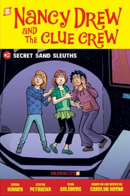 Secret Sand Sleuths (Nancy Drew and the Clue Crew Series #2)