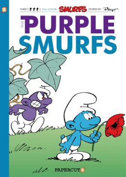 The Purple Smurfs (Smurfs Graphic Novels Series #1) (NOOK Comics with Zoom View)