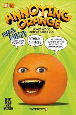 Annoying Orange Graphic Novels Boxed Set: Vol. #1-3
