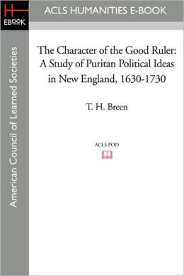 The Character Of The Good Ruler