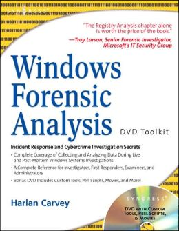 Windows Forensic Analysis DVD Toolkit