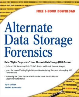 Alternate Data Storage Forensics