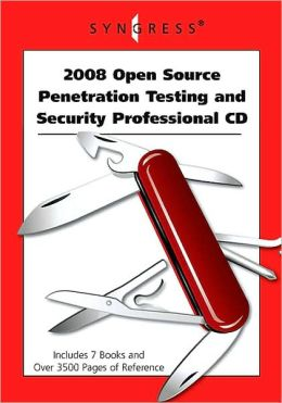 2008 Open Source Penetration Testing and Security Professional CD