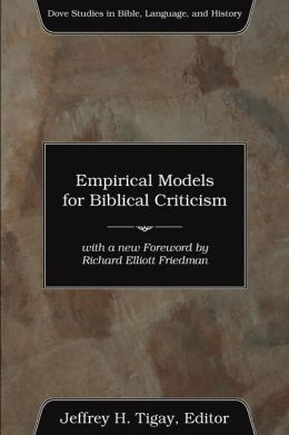 Empirical Models for Biblical Criticism