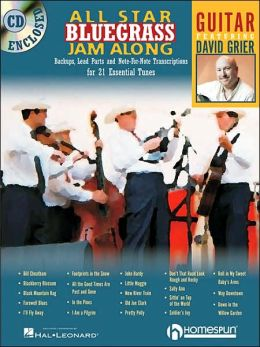 All-Star Bluegrass Jam-along: For Guitar
