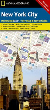 New York City, New York Map