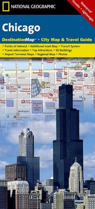 Chicago, Illinois Destination Map