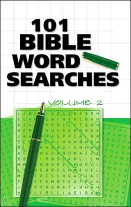 101 Bible Word Searches, Volume 2