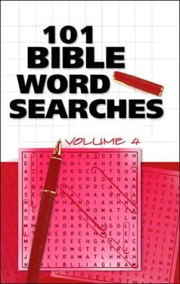 101 Bible Word Searches, Volume 4