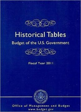 Historical Tables : Budget of the U.S. Government Fiscal Year 2011