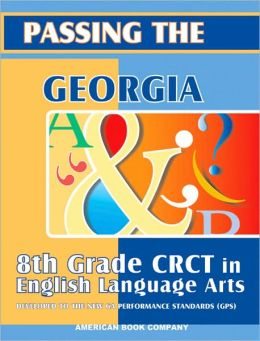 Passing the Georgia 8th Grade CRCT in Language Arts