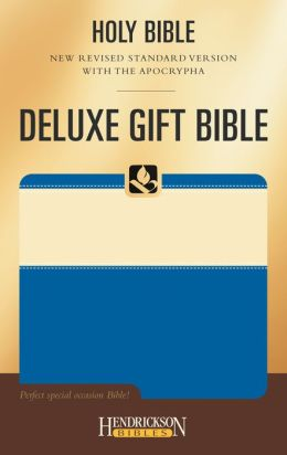 Deluxe Gift Bible-NRSV