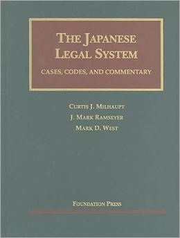 The\Japanese Legal System:Cases, Codes, and Commentary