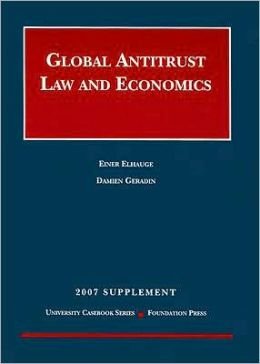 Global Antitrust Law and Economics Supplement