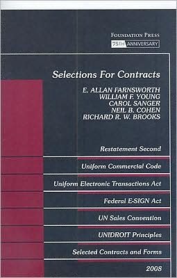 Selections for Contracts:Uniform Commercial Code