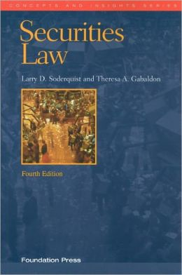 Securities Law, 4th
