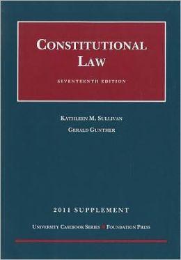 Constitutional Law 2011