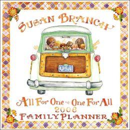 2008 Susan Branch Family Planning Wall Calendar