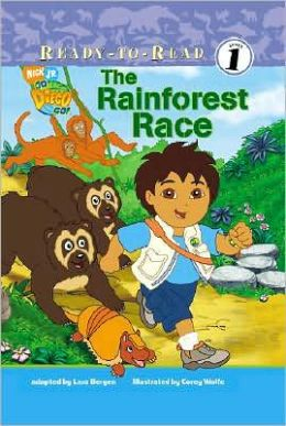 The Rainforest Race (Go, Diego, Go! Ready-to-Read) Lara Bergen, Corey Wolfe and Art Mawhinney