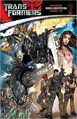Transformers Official Movie Adaptation Issue #2