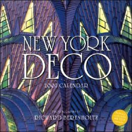 New York Deco 2007 Calendar