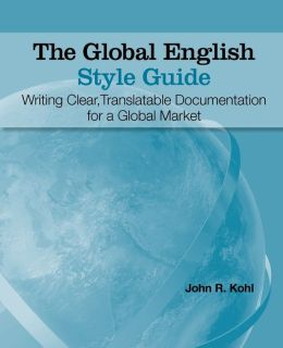 The Global English Style Guide