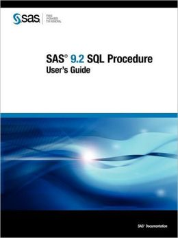 Sas 9.2 Sql Procedure User's Guide