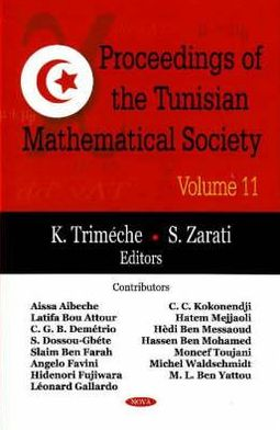 Proceedings of the Tunisian Mathematical Society, Volume 11