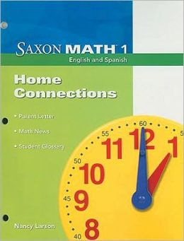 Saxon Math 1: Home Connections