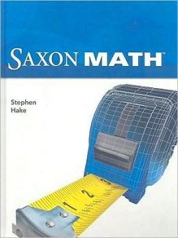Saxon Math Gr5 4Th Edition Student Edition