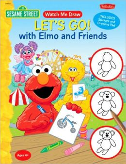 Watch Me Draw Sesame Street's Let's Go! with Elmo and Friends