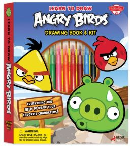 Learn to Draw Angry Birds Drawing Book & Kit: Includes everything you need to draw your favorite Angry Birds characters!