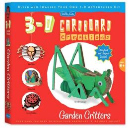 Garden Critters: Build and Imagine Your Own 3-D Adventures Kit