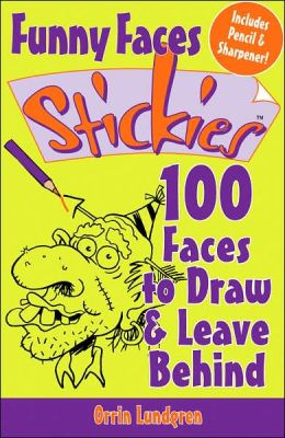 Funny Faces Stickies: 100 Faces to Draw & Leave Behind