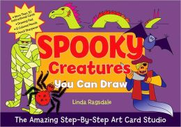 The Amazing Step-by-Step Art Card Studio: Spooky Creatures You Can Draw