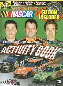 Joe Gibbs Racing Activity Book
