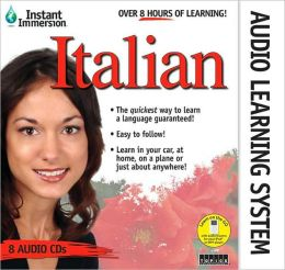 Instant Immersion Italian Audio Learning System: 8 CD Audio Set