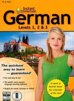 Instant Immersion German Levels 1, 2 & 3 Volume 2