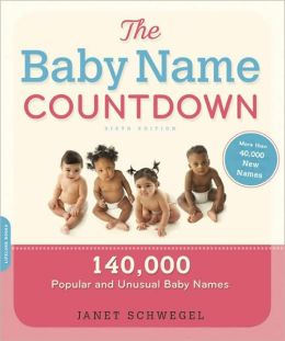 Baby Name Countdown: 140,000 Popular and Unusual Baby Names