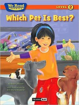 We Read Phonics-Which Pet Is Best?