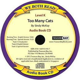 We Both Read-Too Many Cats Audio Book Bilingual