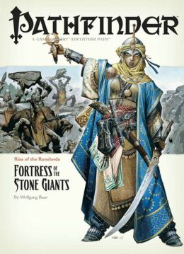 Pathfinder #4 Rise of the Runelords: Fortress of the Stone Giants