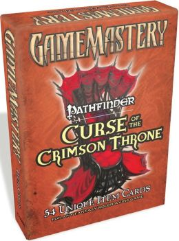 GameMastery Item Cards: Pathfinder: Curse of the Crimson Throne Deck