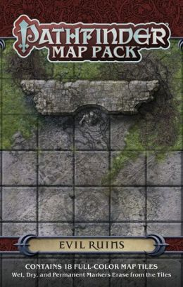 Pathfinder Map Pack: Evil Ruins
