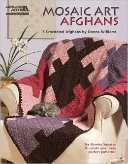 Mosaic Art Afghans (Leisure Arts #3849): Mosaic Art Afghans